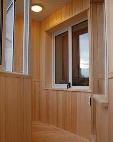 Внутренняя отделка балконов и лоджий под ключ - цены в санкт.