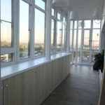 фото остекленных и утепленных балконов