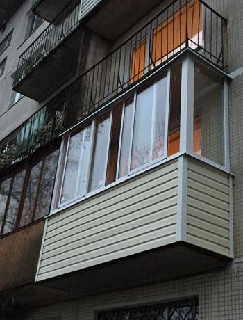 фото балкона после отделки