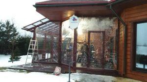 мягкие окна зимой